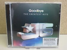 JLS- Goodbye, The Greatest Hits DELUXE CD & DVD (Best of & Videos)