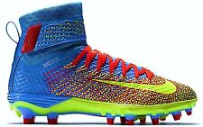 NEW $130 Nike FORCE LUNARBEAST ELITE TD sz 10 BLUE CRIMSON Football Shoes C