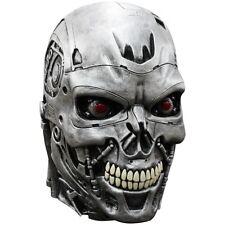 Terminator Genisys Endoskull Deluxe Latex Mask Skynet Robot Costume fnt