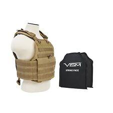 VISM BSCVPCV2924T-A BODY ARMOR STANDARD BALLISTIC PLATE CARRIER 10X12 SOFT PANEL