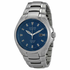 CITIZEN MEN'S ECO-DRIVE WR100 TITANIUM #BM7170-53L BRAND NEW IN BOX WATCH
