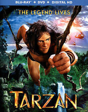 NEW/SEALED - Tarzan (Blu-ray/DVD, 2015, 2-Disc Set)