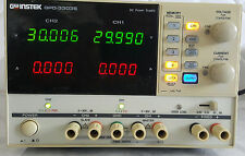 Instek GPD-3303S Linear DC Power Supply, Tested Working 3-Channel Programmable