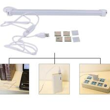 Portable USB 5W LED Hard Strip Light Tube White Light Lamp Bulb On / Off Switch