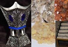 Arabian Incense Burner & Frankincense, Myrrh & Jawi Incense FREE FEDEX SHIP