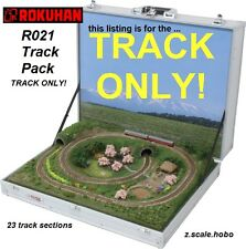 Rokuhan Z Scale R021 TRACK SET for Briefcase Train Layout in USA *NEW $0 SHIP