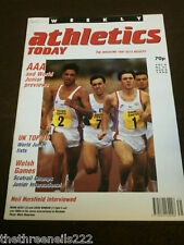 ATHLETICS TODAY - NEIL HORSFIELD INTERVIEW - AUG 2 1990