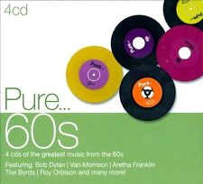 Pure... 60s [Digipak] by Various Artists (CD, Mar-2012, 4 Discs, Sony Music)