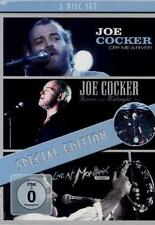 Joe Cocker - Cry Me A River/Across From Midnight/Montreux 1987 *3 DVD*NEU*