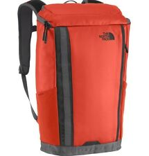 NEW THE NORTH FACE ORANGE BASE CAMP KABAN BACKPACK 23.5 L NWT H2O RESISTANT