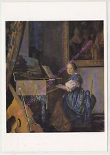 CP TABLEAU VERMEER JOHANNES A young Lady seated at a Virginal