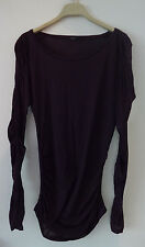 Gucci Tom Ford Rusched  Purple Top  S/M
