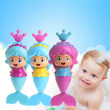 Baby Cute Mermaid Clockwork Dabbling Bath Dolphin Swimming Water Wind Up Toy