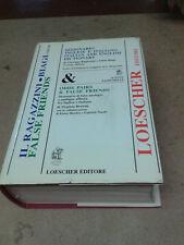IL RAGAZZINI - BIAGI - DIZIONARIO INGLESE/ITALIANO - 1989 - Loescher