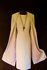 CONDICI Dusky Pink Size 16 Ladies Designer Wedding Dress and Jacket Coat Outfit