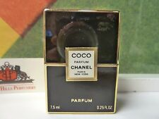 VINTAGE OLD FORMULA COCO CHANEL PURE PARFUM 0.25 OZ / 7.5 ML NEW IN BOX