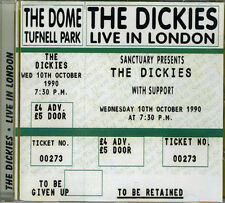 DICKIES, THE Live in London CD (2002 Castle Music)