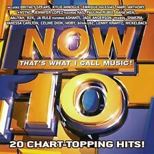 Now, Vol. 10 by Various Artists (CD, Jul-2002, Sony Music Distribution box184