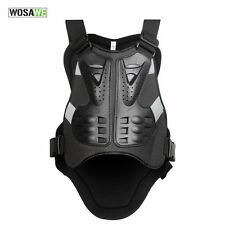 NEW Men's Motorcycle Armor Vest Jacket Racing Riding Spine Chest Protection Gear