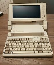 retrocomputer epson pc portable mod.q150a vintage
