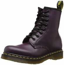 Dr. Martens Women's 1460 W Purple Smooth Leather 8 F(M) UK / 10 B(M) US