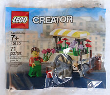 Lego 40140 Creator Flower Cart Wagon Promo Polybag for Modular Town Buildings
