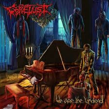 GORELUST - We Are The Undead Gorguts Incubus Revenant Malevolent Creation Grave