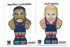 2015 Teamcoach Footy Pop-Ups Trumps Melbourne - Jack WATTS & Heriter LUMUMBA
