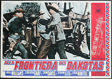 fotobusta cinema  ALLA FRONTIERA DEI DAKOTAS b. williams,c.gray;S.Newfield