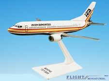 Flight Miniatures IEA InterEuropean Boeing 737 Desk Display Model 1/180 Airplane