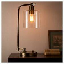 Hudson Industrial Table Lamp - Antique Brass - Threshold™
