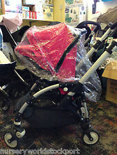 DELUXE PVC RAINCOVER RAIN TO FIT BUGABOO BEE PUSHCHAIR WITH ZIP ACCESS £17.99