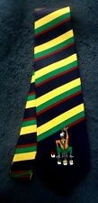 A. Rogers Man Painting Stripes Men's Novelty Neck Tie NECKTIE PAINTER  STRIPES