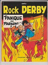 GREG. Rock Derby. Panique au Paradis. Dargaud Vedette 1976