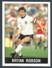 PANINI FOOTBALL 90- #319-ENGLAND/MAN U-BRYAN ROBSON-FASTEST WORLD CUP GOAL IN 82