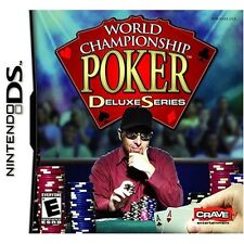 World Championship Poker Game Only Tested NINTENDO DS