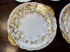 Royal Crown Derby Set of 8 Cake Plates