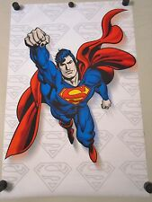 "Superman - Original Poster ""2001"" / #0201  Exc. New cond. / 24 1/4 x 36 1/2"" -"