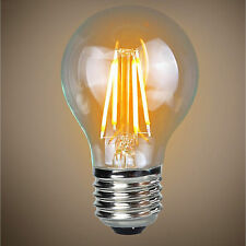 4w E27 LED Filament GLS Energy saving Light  Globe Bulb  A60