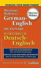 Merriam-Webster's German-English Dictionary by Merriam-Webster (2010, Paperback)