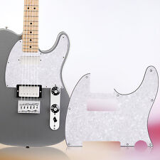 White Pearl 3Ply 8 Hole Guitar Pickguard Humbucker for Fender Strat Scratchplate