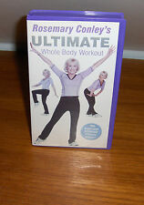 VHS TAPE - ROSEMARY CONLEY's ULTIMATE WHOLE BODY WORKOUT - GOOD CONDITION