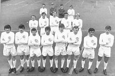 LEEDS UNITED FOOTBALL TEAM PHOTO 1969-70 SEASON