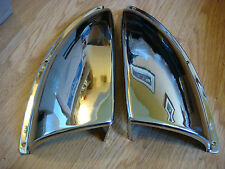 Vents Ventilator Chrome BRASS NOS Chris Craft Lyman Century Vent  Left & Right