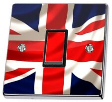 Union Jack UK British Flag Light Switch Sticker vinyl cover skin decal GB stika