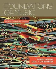 Foundations of Music by Carl J. Christensen and Robert Nelson (2014, Paperback)
