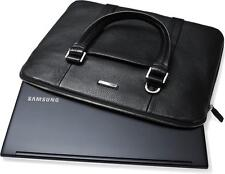 Genuine NAVA Samsung Black Leather for 13.3 & 14 inch Notebook Carrying Case -