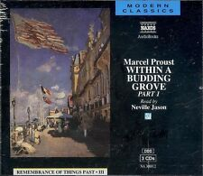 Marcel Proust Within A Budding Grove Part 1 audio book CD NEW