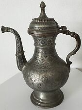 Unikat Antik Perser Safavide Wasserkanne Kupfer Persian Antique Copper 16./17.Jh