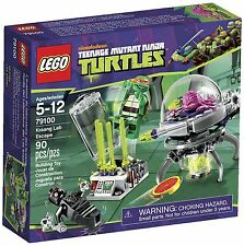 Lego Teenage Mutant Ninja Turtles TMNT 79100 KRAANG LAB ESCAPE Michaelangelo NIB